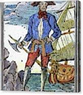 Pirate Edward England Acrylic Print