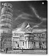 Pisa - The Leaning Tower Acrylic Print