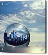 Planet Ny Acrylic Print