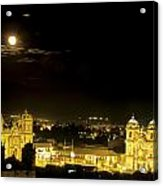 Plaza De Armas Cuzco Peru Acrylic Print