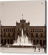 Plaza De Espana Acrylic Print