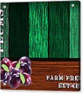 Plum Farm Acrylic Print