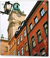 1 Pm In Stockholm Acrylic Print