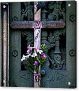 The French Cross Acrylic Print