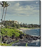 Polo Beach Wailea Point Maui Hawaii Acrylic Print
