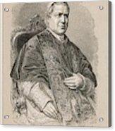 Pope Pius Ix (conde Giovanni Maria Acrylic Print