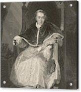 Pope Pius Vii (luigi Barnabo Acrylic Print