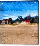 Port Huron Light House Acrylic Print