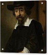 Portrait Of A Man Acrylic Print