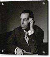 Portrait Of Cole Porter Acrylic Print