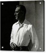 Portrait Of John Barrymore Acrylic Print