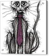 Posh Cat Acrylic Print