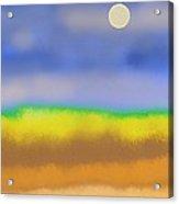 Prairie Acrylic Print by Lenore Senior