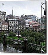 Praza Da Ferreria In Pontevedra Acrylic Print