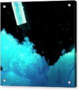 Precipitation Of Copper (ii) Hydroxide Acrylic Print