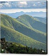 Presidential Range - White Mountains New Hampshire Acrylic Print