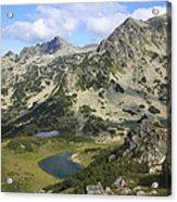 Prevalski And Valyavishki Lakes Pirin National Park Bulgaria  Acrylic Print