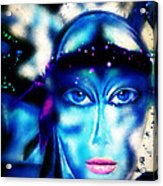 Princesse D Acrylic Print