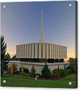 Provo Utah Lds Temple Acrylic Print