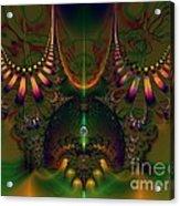 Quantum Dot Acrylic Print