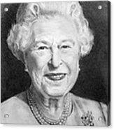 Queen Elizabeth Acrylic Print