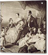 Queen Victoria & Family Acrylic Print