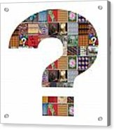 Question Symbol Showcasing Navinjoshi Gallery Art Icons Buy Faa Products Or Download For Self Printi Acrylic Print