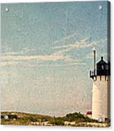 Race Point Light Acrylic Print by Bill Wakeley