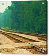 Railroad To Nowhere Acrylic Print