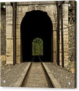 Railroad Tunnel 3 Bnsf 1 B Acrylic Print