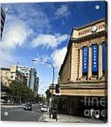 Railway Station Adelaide Acrylic Print