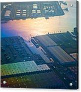 Rainbow Earth 3. Somewhere Over Netherlands Acrylic Print