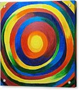 Rainbow Vertigo Acrylic Print