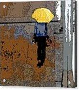 Rainy Days And Mondays Acrylic Print by David Bearden