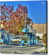Raleigh Studios Hollywood Ca Film Production Stages Acrylic Print