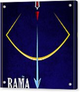 Rama The Avatar Acrylic Print by Tim Gainey