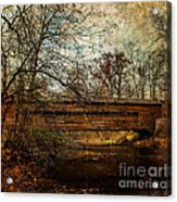 Rapps Dam Covered Bridge Acrylic Print