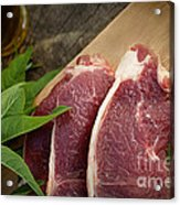 Raw Meat Acrylic Print