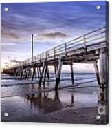 Ready Jetty Go Acrylic Print by Shannon Rogers