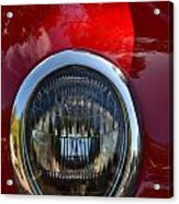 Red Classic Ford Acrylic Print