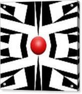 Red Ball 8 Acrylic Print