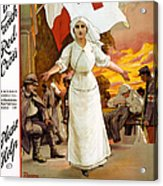 Red Cross Poster, 1915 Acrylic Print