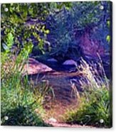 Red Rock Crossing Sedona Az Acrylic Print