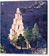 Red Rocks Open Space Acrylic Print