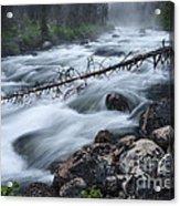Redfish Creek In Stanley Idaho Acrylic Print