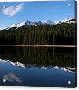 Reflection Bay - Jasper, Alberta - Panorama Acrylic Print