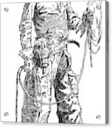 Remington Cowboy, 1887 Acrylic Print
