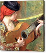 Renoir's Young Spanish Woman With A Guitar Acrylic Print