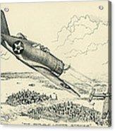 Republic P-43 Lancer Acrylic Print