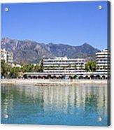 Resort City Of Marbella In Spain Acrylic Print